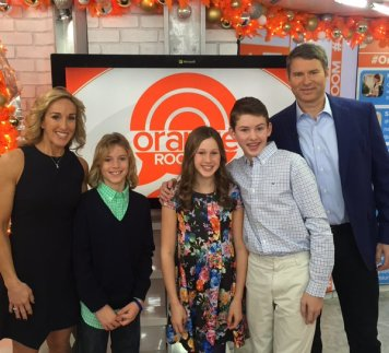 Lauren and Bob on The Today Show